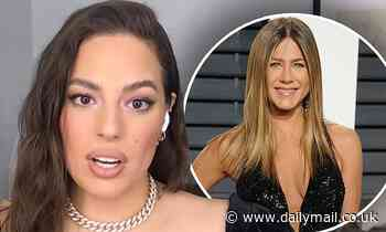 Ashley Graham says she and Jennifer Aniston struck up a friendship after Ashley 'slid into her DMs'