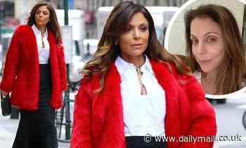 Bethenny Frankel turns the streets of New York City into her personal runway before posting a selfie