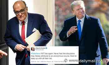 Rudy Giuliani and Donald Trump 'discuss pre-emptive pardon'