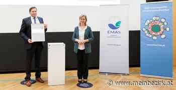 Im Zeichen der Umwelt: EMAS-Auszeichnung für Firma Bernegger aus Molln - meinbezirk.at