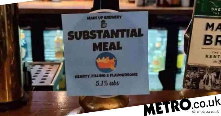 Pub offers pint called 'Substantial Meal' to get around tier two restrictions