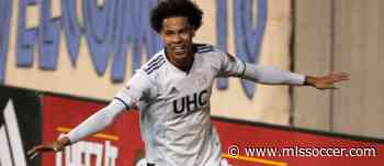 New England Revolution's Tajon Buchanan named 2020 Canadian Youth International Player of the Year