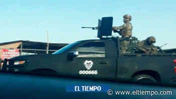 Familia escapa, a toda velocidad, de sicarios en México - El Tiempo