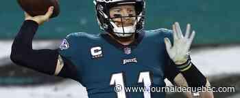 Les Eagles ont encore confiance en Carson Wentz