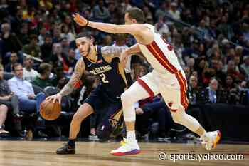 Report: New Orleans Pelicans to play Miami Heat on Christmas Day