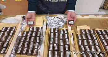 Padre e figlio svizzeri arrestati a Luino con 5 kg di hashish - laRegione