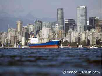 Two injured after lifeboat falls from freighter in English Bay