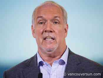 Vaughn Palmer: Horgan has repeatedly said 'no' to tax hikes. We shall see