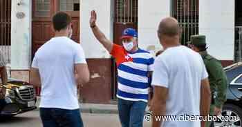 Díaz-Canel llegó al parque Trillo en Mercedes Benz y con un Rolex en mano - CiberCuba