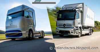 """Los Mercedes-Benz eActros y GenH2 Truck recibieron el """"2021 Truck Innovation Award"""" - valenciacars"""