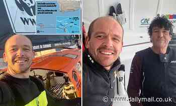 Sailor whose yacht was snapped in HALF apologises to rival