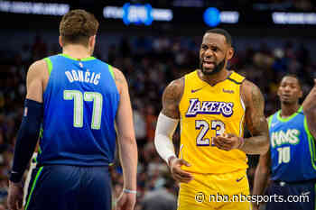 Reported NBA Christmas Day games include Mavericks at Lakers, Celtics at Nets