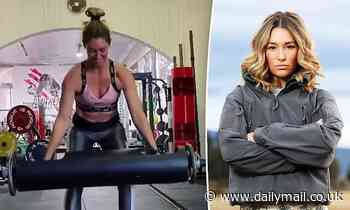 SAS Australia: Erin McNaught flaunts her toned physique while lifting a 32kg weight