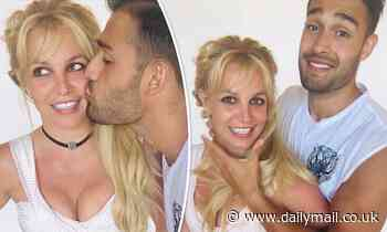 Britney Spears wishes herself a happy 39th birthday (a day early) in PDA snaps with Sam Asghari