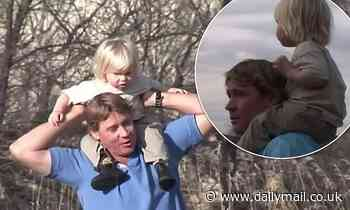 Robert Irwin shares a heartbreaking video featuring his late father Steve