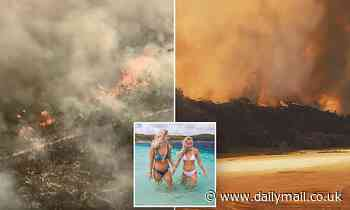 Queensland: Bushfire ravaging tourist mecca Fraser Island could destroy the WHOLE place