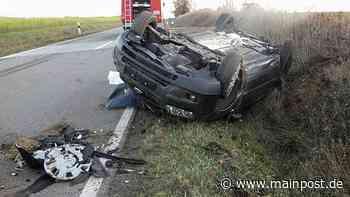 Verkehrsunfall bei Bischofsheim fordert zwei Schwerverletzte - Main-Post