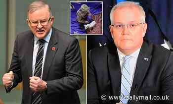 Anthony Albanese blames Scott Morrison for causing tensions with China