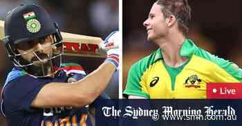 Australia v India ODI LIVE: Abbott, Agar claim early Indian wickets