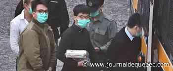 Manifestations à Hong Kong: Joshua Wong et deux autres militants bientôt fixés sur leur peine