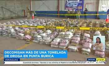 Nacionales Decomisan más de mil paquetes de droga en Punta Burica - TVN Panamá