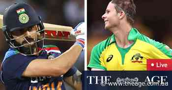 Australia v India ODI LIVE: Zampa claims another wicket to put Australia on top
