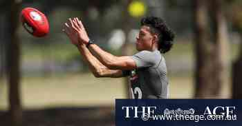 Meet the draft hopeful who hopes to be 'an ambassador for footy in China'