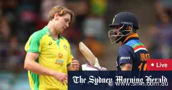 Australia v India ODI LIVE: Australian spinners wreak havoc as Kohli strives to save Indian innings