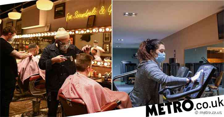 Hairdressers and gyms reopen again as national lockdown lifts