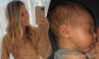 Jennifer Hawkins shares a throwback picture of daughter Frankie Violet Hawkins Wall