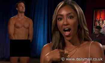 The Bachelorette: Ben Smith strips down ALL NUDE for Tayshia Adams to display vulnerability on date