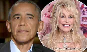 Barack Obama reveals it was a 'mistake' to not give Dolly Parton the Presidential Medal of Freedom