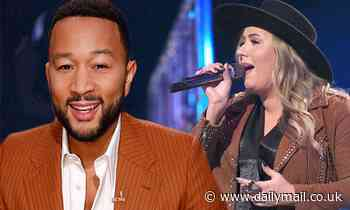 The Voice: John Legend gains edge as his country singer Bailey Rae wins Wild Card Instant Save