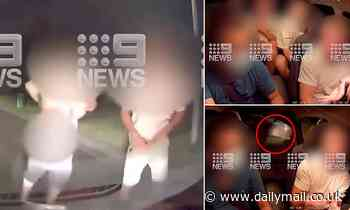Shocking footage shows three male passengers abusing and 'mooning' Uber driver in Melbourne