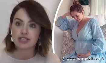 Pregnant Jesinta Franklin candidly reveals her experiences with anxiety as a new mother