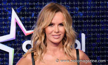 Amanda Holden's incredible Christmas doorway has to be seen to be believed!