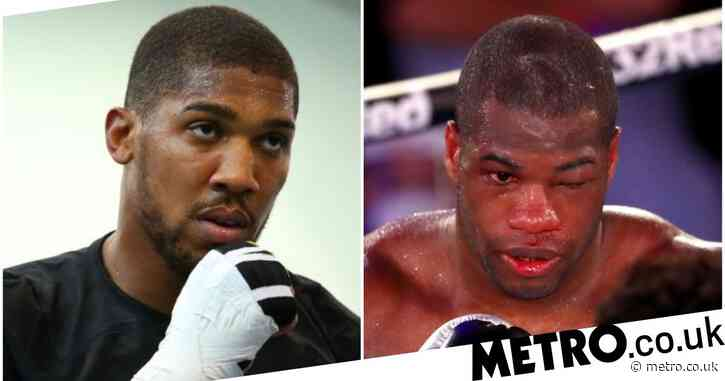 Anthony Joshua sends message of support to Daniel Dubois after Joe Joyce loss