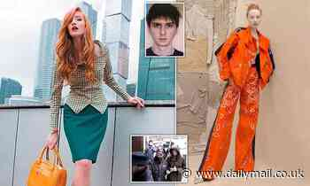 Russian Vogue model is charged with killing her boyfriend