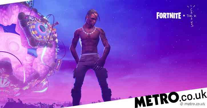 Travis Scott earned $20 million from Fortnite, is making his own PS5 game
