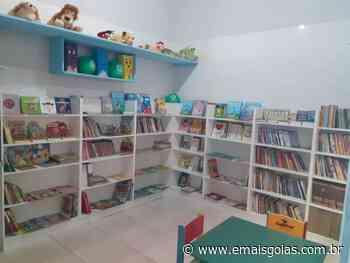 Projeto social inaugura biblioteca infantil em creche de Aparecida - Mais Goiás