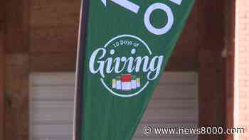'10 Days of Giving' underway in Winona, supporting food shelf at Winona Volunteer Services - News8000.com - WKBT