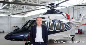 Millionaire paid £2,000 for two-hour helicopter trip to eat Big Mac and fries