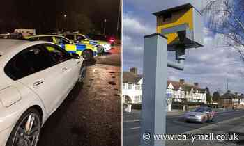 Speeding BMW driver faces 107 POINTS on his licence after activating THIRTY-TWO speed cameras