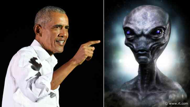 Obama reveals he sought truth about aliens and UFOs while president… but won't say what he was told
