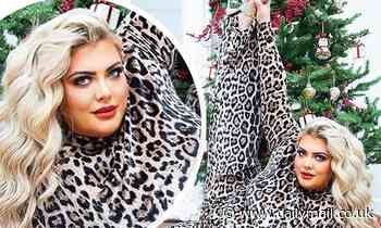 Gemma Collins shows off her incredible flexibility as she kicks her leg in the air