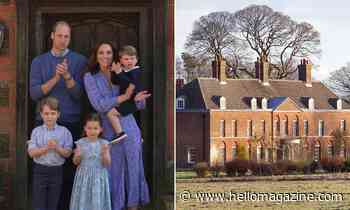 Prince William and Kate Middleton's huge country home was a gift from the Queen - see inside