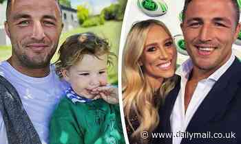 Sam Burgess enjoys quality time with his son Billy amid his legal battle with ex-wife Phoebe