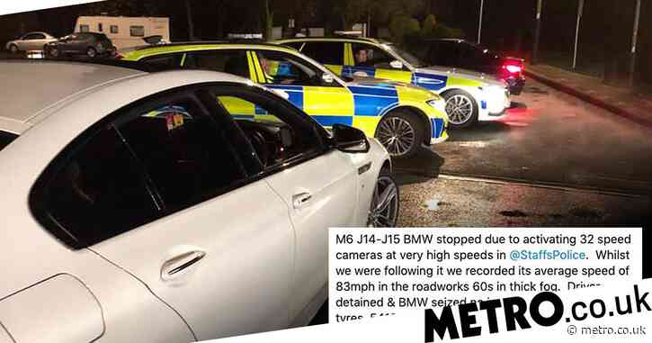 Driver gets 100 penalty points after setting off 32 speed cameras in one trip