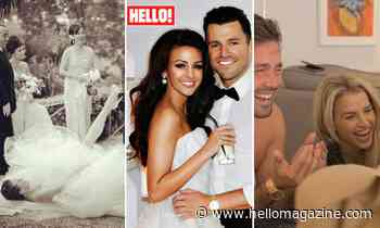 Hilarious celebrity wedding photos and fails: From Michelle Keegan to Vogue Williams