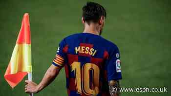 Barca should retire Messi's 10 for Maradona - son